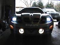 1998-2002 Pontiac Trans Am Halo fog lamps lights 2001