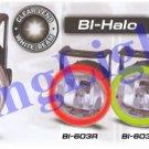 07-09 DODGE CALIBER WHITE HALO FOG LAMPS lights xenon