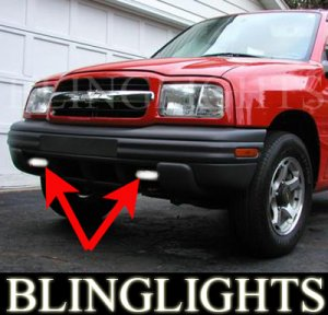 1999-2004 CHEVY TRACKER FOG LIGHTS sport 00 01 02 03 04