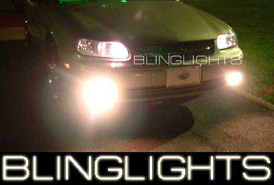 97-03 Chevy Malibu White Halo Fog Lamps lights 00 01 02