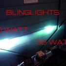 VHO 50 Watt (Very High Output) 8000K H4 Xenon HID Kit