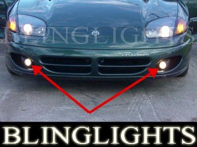 1991-1996 Dodge Stealth Xenon Fog Lamps lights 93 94 95