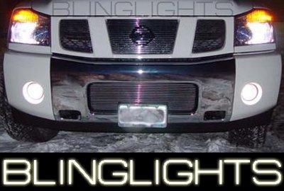 2004-2007 Nissan Armada Halo Fog Lamps Lights 06 Patrol