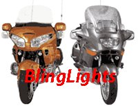 99-08 YAMAHA V STAR 1100 DRIVING LAMPS classic 07 06 05