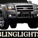 2004-2009 Ford Ranger LED Fog Lamps Lights 05 06 07 08
