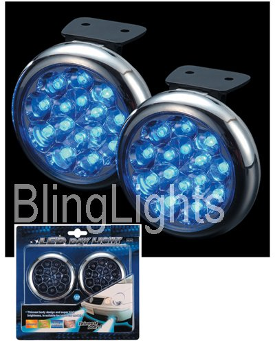 2007-2009 LINCOLN MKZ BLUE LED FOG LIGHTS lamps 07 08