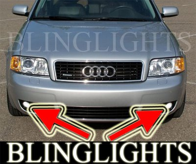1997-2004 AUDI A6 FOG LIGHTS driving lamps c5 avant 03