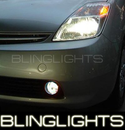 04-09 TOYOTA PRIUS WHITE HALO FOG LAMPS lights 05 06 08