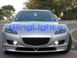 2003-2009 Mazda RX-8 Hella Fog Lamps kit 05 06 07 rx8