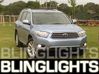 2008-2009 Toyota Highlander Fog Lamps Lights hybrid 08