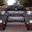 02-09 Nissan Xterra White Halo Fog Lamps lights 06 07
