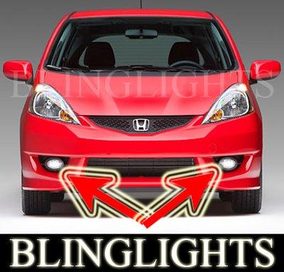 2007-2009 Honda Fit Xenon Fog Lamps lights 07 08 sport
