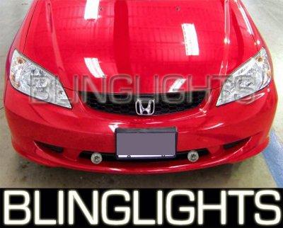 2000-2005 Honda Civic Fog Lamps lights 01 02 03 04