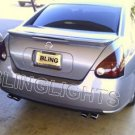 2004-2008 NISSAN MAXIMA TAIL LIGHTS TAILLIGHTS TAILLAMPS TAILLAMP LAMPS TINT FILM 2005 2006 2007