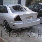 1997-2002 Mitsubishi Mirage Taillights Tint Taillamps Smoke Tail Lights Lamps 1998 1999 2000 2001