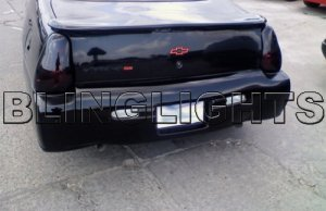 2006 2007 Chevy Monte Carlo Ls Lt Ltz Ss Taillights Tint Taillamps Smoke Tail Lights Lamps Chevrolet