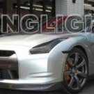 2009 2010 2011 Nissan GT-R Headlamps Tint Headlights Film Head Lamps Lights Smoked GTR GT R