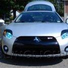 2006 2007 2008 Mitsubishi Eclipse Blue LED Fog Lights Driving Lamps Kit