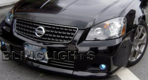 2005 2006 nissan altima se r xenon fog lights driving lamps kit ser. Black Bedroom Furniture Sets. Home Design Ideas
