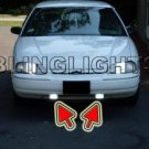 1995 1996 1997 1998 1999 2000 2001 Chevy Lumina Xenon Fog Lights Driving Lamps Kit Chevrolet