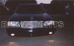 1998 1999 2000 Mercedes-Benz C280 Xenon Fog Lights Driving Lamps Kit C 280 w202