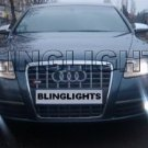 2005-2008 Audi A6 Xenon Fog Lights Driving Lamps Kit 2006 2007
