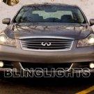 2008 2009 Infiniti M35 M45 Xenon Fog Lights Driving Lamps Kit