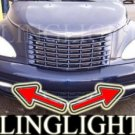 2001-2005 CHRYSLER PT CRUISER XENONFOG LIGHTS DRIVING LAMPS LIGHT LAMP KIT gt 2002 2003 2004