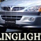 2005-2009 SSANGYONG KYRON TAILLIGHTS LAMPS Smoke xdi 2006 2007 2008