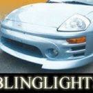 2000 2001 2002 2003 2004 2005 Mitsubishi Eclipse Erebuni Body Kit Bumper Fog Lights Driving Lamps