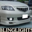 MAZDA MPV LED FOG LIGHTS 2000 2001 2002 2003 2004 2005 2006