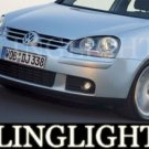 2003-2009 VW GOLF DRIVING LAMPS LIGHTS gti mkv gli r32 2004 2005 2006 2007 2008