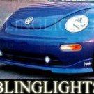 1998-2004 VOLKSWAGEN BEETLE WINGS WEST BODY KIT FOG LIGHTS 1999 2000 2001 2002 2003