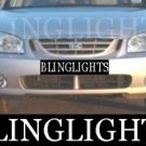 2000-2007 KIA CERATO FOG LIGHTS gs lx 2001 2002 2003 2004 2005 2006