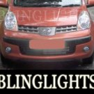 2004-2009 NISSAN NOTE FOG LIGHTS s se sve 2005 2006 2007 2008