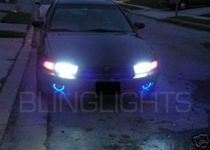 1999-2003 MITSUBISHI GALANT ANGEL EYES FOG LAMPS HALOS DRIVING LAMPS KIT 2000 2001 2002