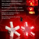 2006-2009 Hummer H3 WHITE LED Spider Brake Lights Bulbs Stop Lamps Brakelights Brakelamps