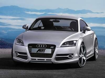 "ABT Audi TT Car Poster Print on 10 mil Archival Satin Paper 16"" x 12"""