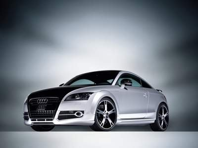 "ABT Audi TT_R Car Poster Print on 10 mil Archival Satin Paper 16"" x 12"""