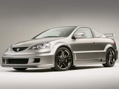 "Acura RSX A-Spec Car Poster Print on 10 mil Archival Satin Paper 16"" x 12"""