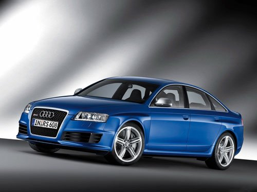"Audi RS6 Car Poster Print on 10 mil Archival Satin Paper 16"" x 12"""