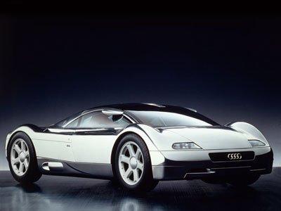 "Audi Avus Quattro Concept Car Poster Print on 10 mil Archival Satin Paper 16"" x 12"""