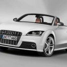 "Audi TTS Roadster Car Poster Print on 10 mil Archival Satin Pape 16"" x 12"""