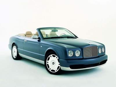 "Bentley Arnage DropHead Coupe Car Poster Print on 10 mil Archival Satin Paper 16"" X 12"""