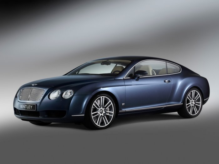 "Bentley Continental GT Diamond Series Car Poster Print on 10 mil Archival Satin Paper 16"" X 12"""