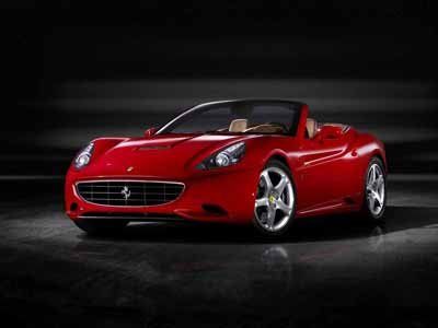 "Ferrari California Car Poster Print on 10 mil Archival Satin Paper 16"" x 12"""