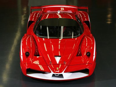 "Ferrari FXX Evolution Car Poster Print on 10 mil Archival Satin Paper 16"" x 12"""