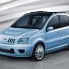 "Fiat Panda Multi Eco Car Poster Print on 10 mil Archival Satin Paper 16"" x 12"""