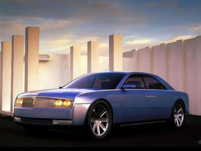 "Lincoln Continental Concept Car Poster Print on 10 mil Archival Satin Paper 16"" x 12"""""