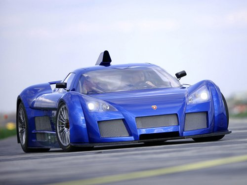 "Gumpert Apollo Car Poster Print on 10 mil Archival Satin Paper 16"" x 12"""